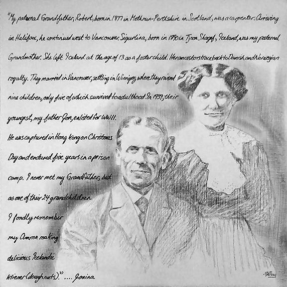 Robert and Sigurlina Stratton 72